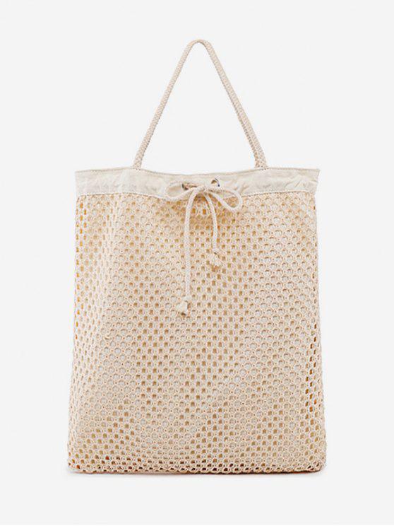 حقيبة الكتف على الكتف - ضوء الكاكي عمودي