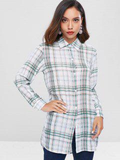 Checkered Long Shirt - Multi Xl