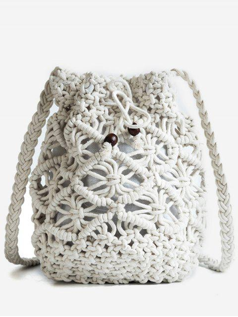 Leisure Vacation Braid Bolso bandolera - Blanco  Mobile
