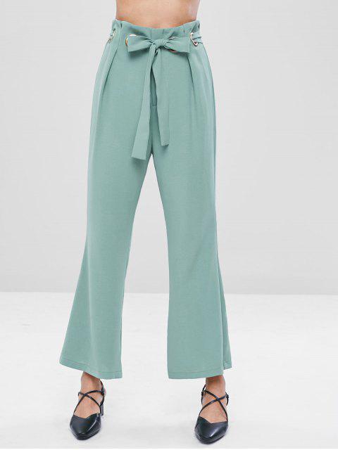 Pantalon Découpé Ceinturé - Cyan Opaque XL Mobile