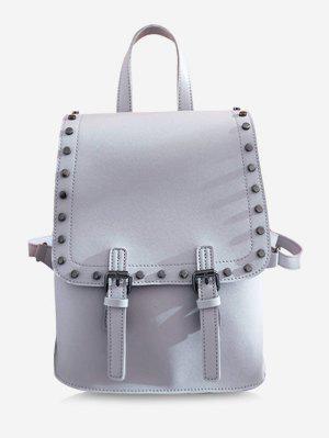Schicker Convertible Rucksack mit Nieten