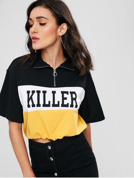 T-shirt graphique à manches longues - Multi L