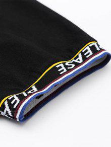 M Con Parche El Negro 225;stica Cinta Camiseta q1aYw