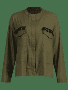 Up Del Jacket Zip Shirt S Ej Tassels Verde 233;rcito Pq657BxwwC