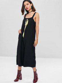 fb1afd33930a3 66% OFF  2019 Square Neck Wide Leg Jumpsuit In BLACK ONE SIZE