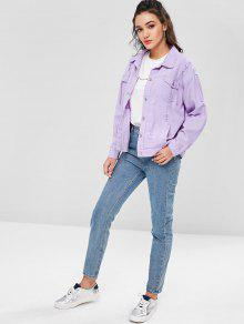 Malva Denim M De Jacket Ripped Color Boyfriend wX5PpnqA