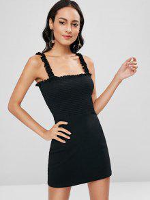 فستان قصير من Smillsed - أسود S