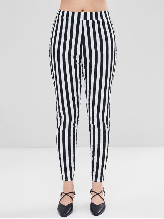 Pantaloni A Righe - Multi Colori M