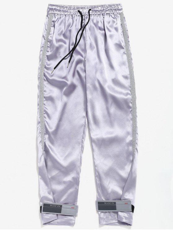 Brillant À Pantalon L Rayé CordonArgent Taille JlKu3TF1c