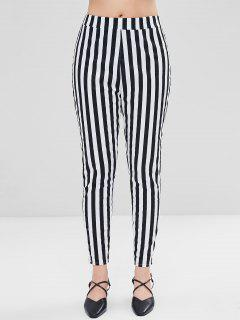 Straight Stripes Pants - Multi S