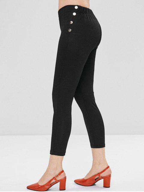 Pantalon Collant Clouté - Noir XL Mobile