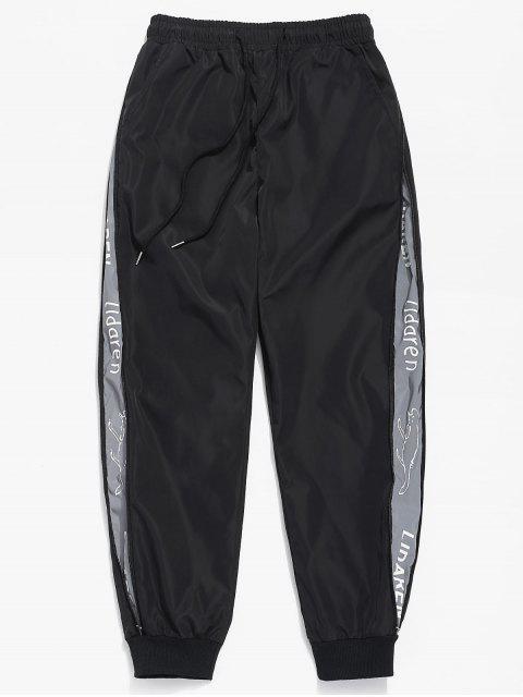 Pantalon Imperméable avec Poche Zip Latéral - Noir M Mobile