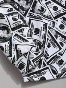 Sudadera American Allover Dollar Con 2xl Estampado De Multicolor rEXqrwTxt