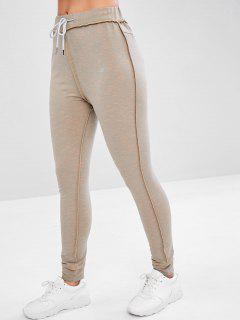 Pantalones De Jogging De Brezo - Gris L