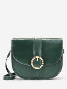 حقيبة الرافعة المعدنية الرجعية - أخضر