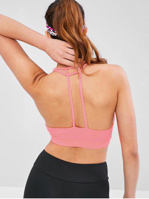 Sujetador de gimnasio con relleno en la espalda - Sandía Rosa L Mobile