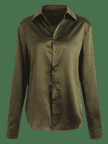 Del Del De 233;rcito S Lunares Camisa Verde Panel Ej Raso De wEqR10AI