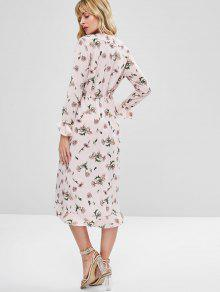 Media Chicle Rosa A Volantes Pierna Vestido Superpuestos S Con Pzw6xU