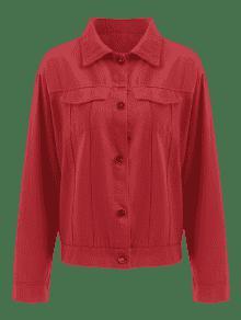 Cordones Botones S Con Chaqueta Rojo De 5pxHxWO