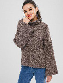 27b906ad9c5 67% OFF  2019 Chunky Knit Open Back Sweater In DEEP BROWN