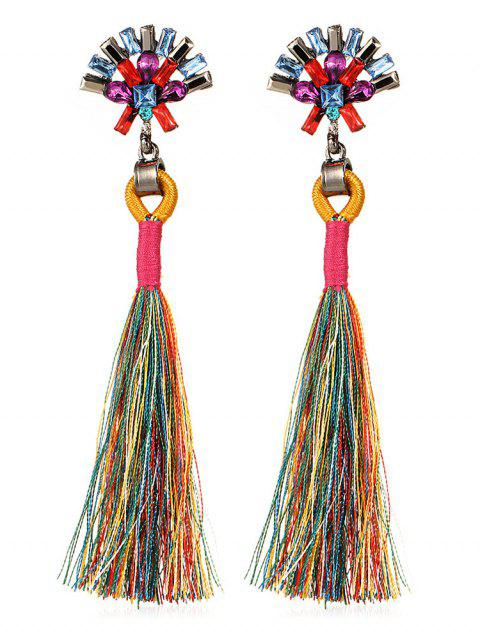 Bohemia Long Tassels Pendientes - Multicolor  Mobile