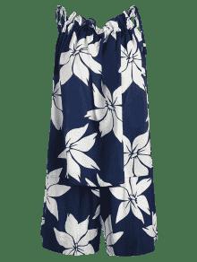 De De Oscuro Conjunto Pizarra Lazo Dos De Floral Azul Piezas HxRpqwa