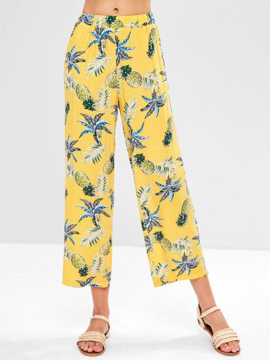 Pantaloni Tropicali - Giallo Granturco M