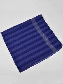 461a851b934c6 23% OFF] 2019 Retro Striped Pattern Silky Oversized Scarf In ROYAL ...