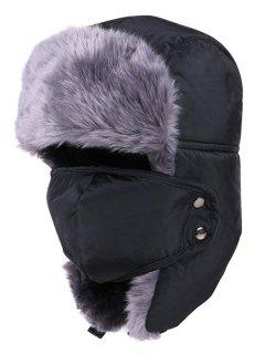 Outdoor Waterproof Thicken Hunting Trapper Hat - Gray Wolf
