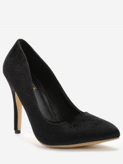 ZAFUL Pointed Toe High Heel Pumps - Black 36