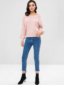 Rosa Up Cerdo Sleeves Sweater Lace Dolman vXOT7qEO