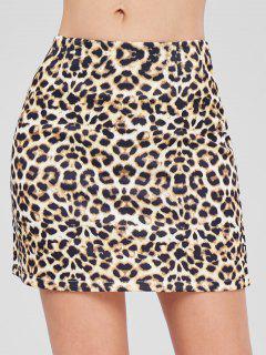 Minifalda De Leopardo - Leopardo L