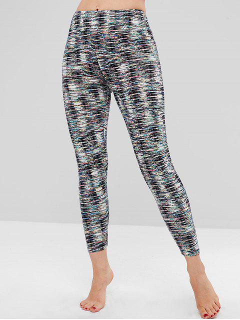 outfits Multicolored Soft Leggings - MULTI ONE SIZE Mobile