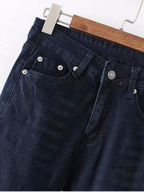 Jeans Straight Dark Wash - Azul Oscuro de Denim XL Mobile
