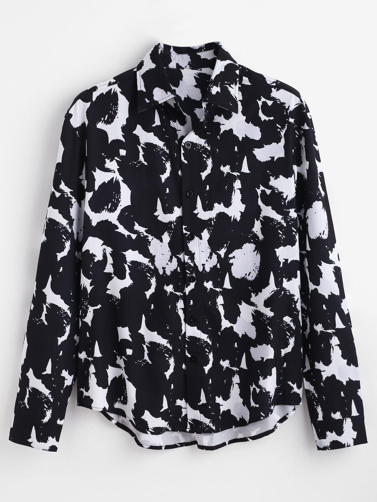 ZAFUL All Over Printed Casual Shirt