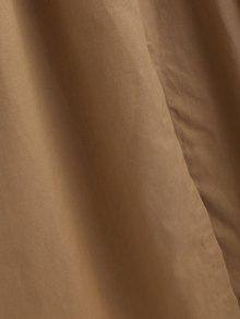 Cintura Ce De Alta ido Cintur 243;n Camel Casual S Con 243;n Vestido Marr x0qw4Z5