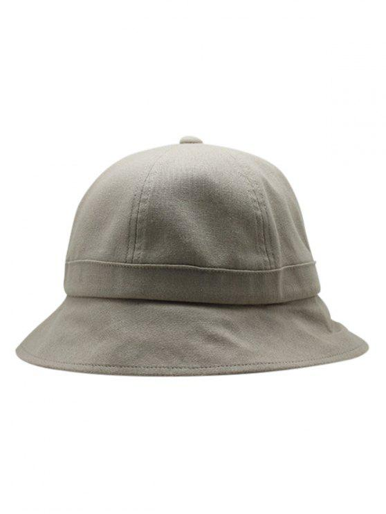 cba4b296b1ebc8 ... closeout latest unique solid color foldable bucket hat light khaki  c9bb6 a79d9