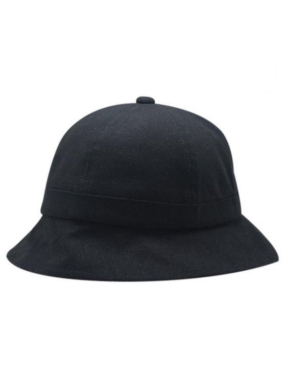 cf500509ab80d7 ... promo code lady unique solid color foldable bucket hat black ba6f5 7621b
