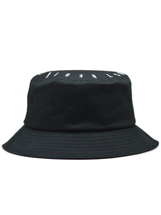 2019 Letter Embroidery Bucket Hat In BLACK  3b857741d66