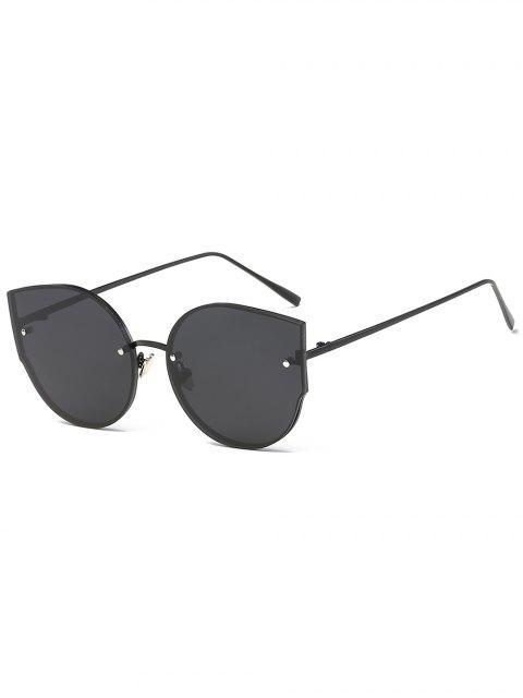 UV-Schutz flache Linse Catty Sonnenbrille - Schwarz  Mobile
