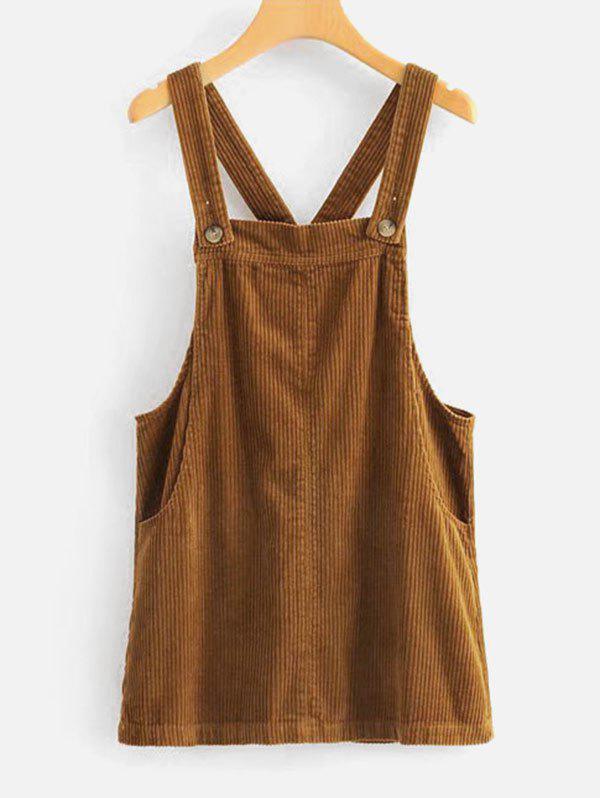 Shadow Stripes Pinafore Dress 280204202