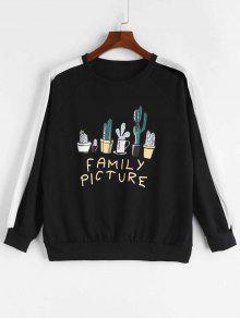 Cactus Sudadera Family Negro Picture Picture Family qTpPRnOF