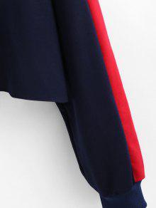 Sudadera Capucha En Tricolor S Extragrande Color Con Multicolor ggq7fpP