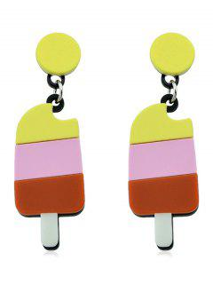 Ice Cream Designed Drop Earrings - Multi