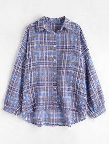 Cuadros A Tama Multicolor De Camisa o Gran nBX1PqP