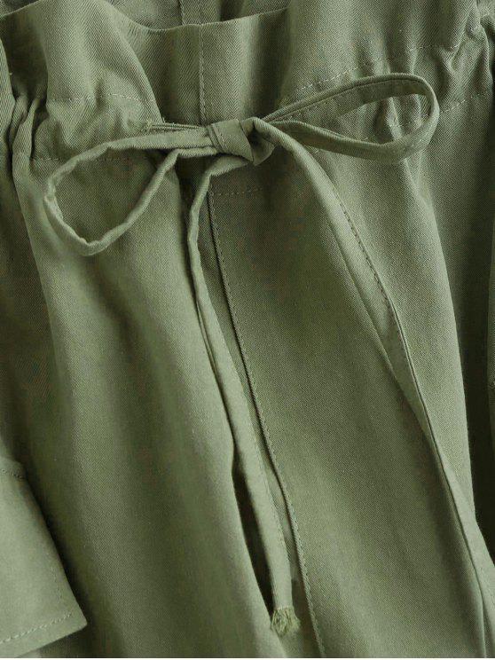 Poche Cordon Avec De SerrageVert Pantalon Fougère XkOuTwiPZl
