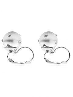 Pendientes Colgantes De Perlas De Imitación De Perlas - Blanco