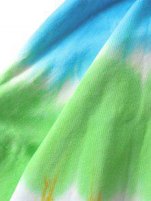 Con Sudadera Xl Capucha Efecto Dye Multicolor Con Tie 8qOpTd1wq