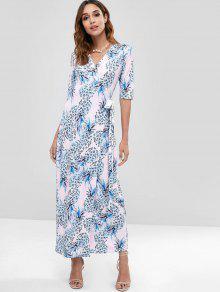 0222813aae Pineapple Wrap Maxi Dress  Pineapple Wrap Maxi Dress ...