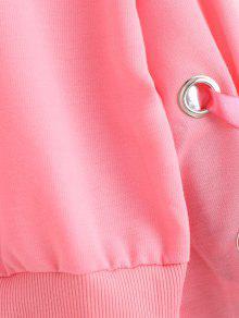 Sudadera Con S Cordones Ribbons Rosado zR4HAaz
